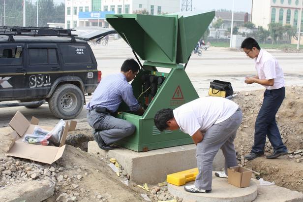 伊诺尔电气专业专业电缆分支箱现场安装人员